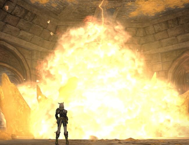 シリウス大灯台の爆発5