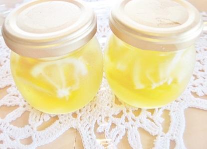 蜂蜜レモンです