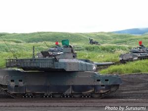 10式戦車&74式戦車