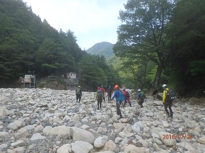 20160724赤坂谷~ツメカリ谷20