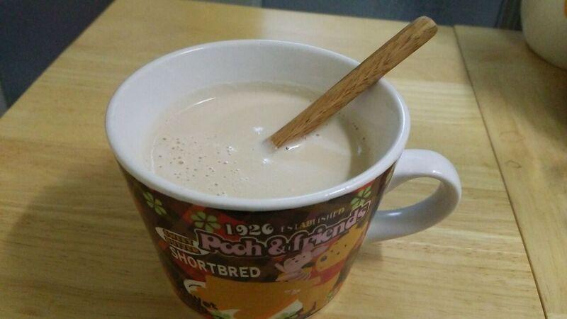 160920カラメルホットミルク