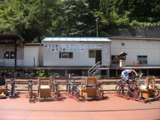 レールマウンテンバイクガッタンゴー