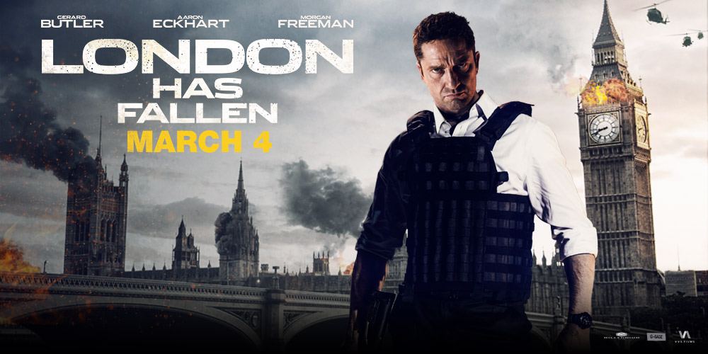 ジェラルド・バトラー演じるマイク・バニングシリーズ「エンド・オブ・キングダム」に続く大3作目の製作が決定!