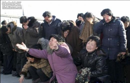北朝鮮人民金正日死去1