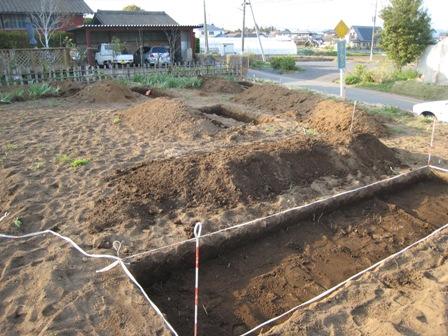 埋蔵文化財試掘