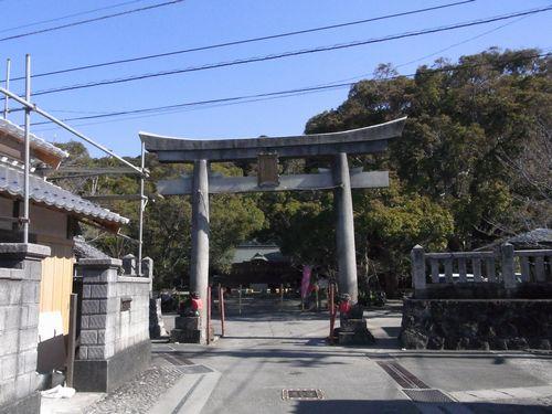 御田八幡宮 1