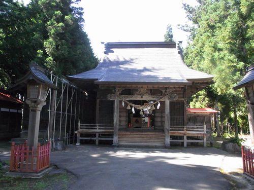 浪岡八幡宮26拝殿