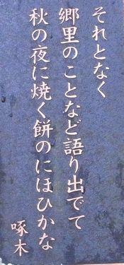 啄木歌碑7