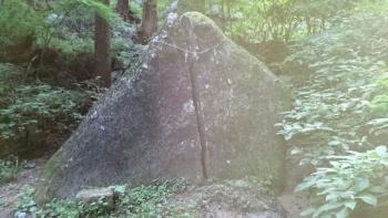 弁慶の割石