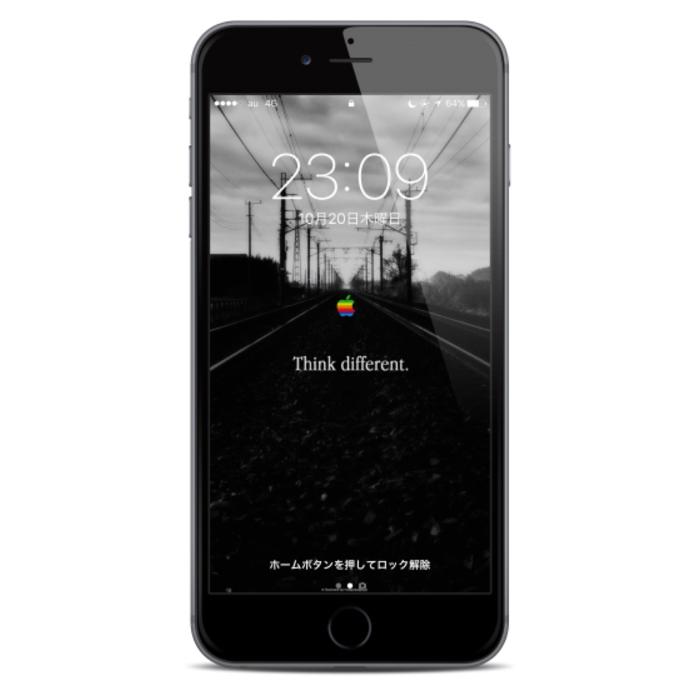 iPhone7 おすすめ壁紙 ロック画面
