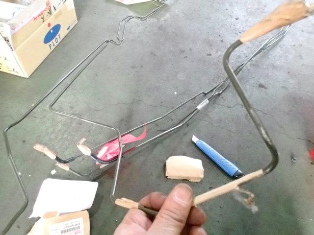 いすゞビッグホーン 修理