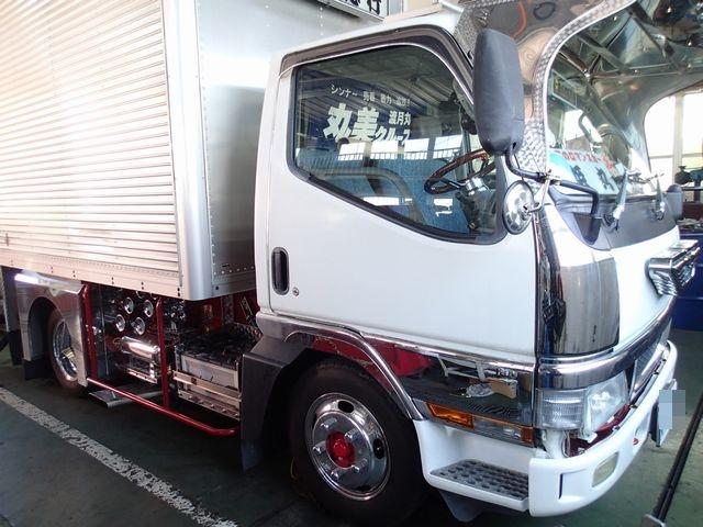 三菱キャンター エアコン修理