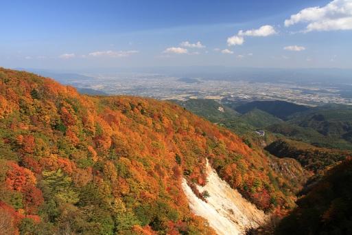 この場所の紅葉はここ3年間で一番綺麗でした
