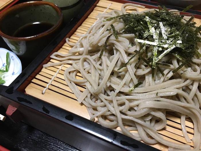 たかはし〆の蕎麦