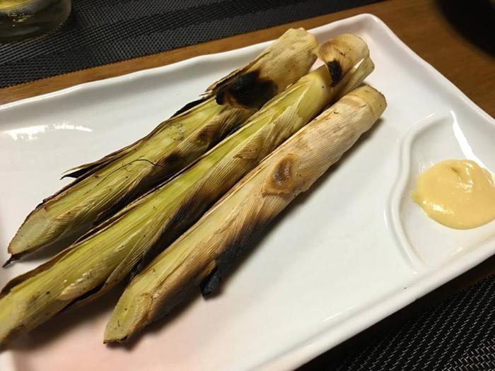姫竹の子焼き