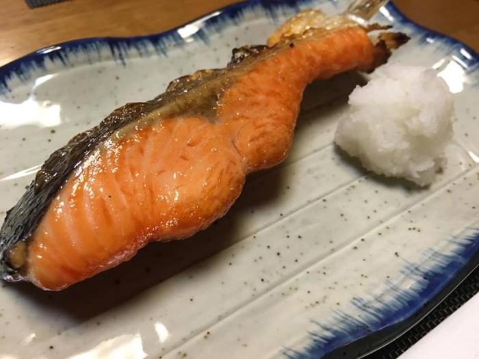時鮭塩焼き