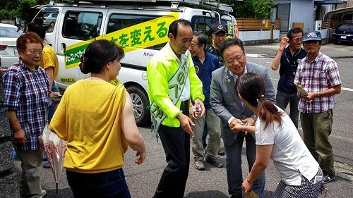 参院選 2016 応援記【地元 河内へ !! 】④