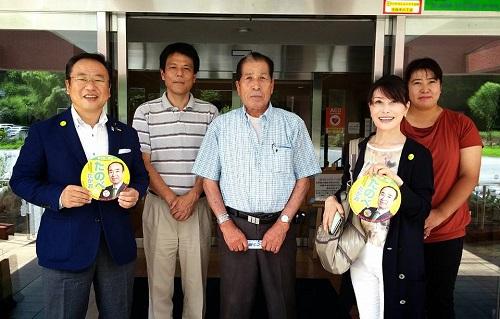 参院選 2016 応援記【ゆかり夫人と!】