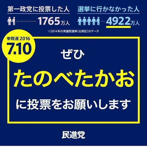 参院選 2016 応援記【最終日も遊説で!】①