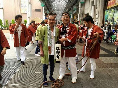 須賀神社<天王祭>江野町自治会 編!②