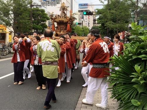 須賀神社<天王祭>江野町自治会 編!④
