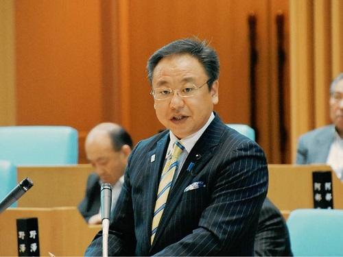 栃木県議会<第339回 通常会議>代表質問 登壇!①