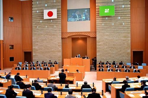 栃木県議会<第339回 通常会議>代表質問 登壇!③