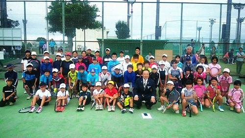 宇都宮テニス協会<子供ダブルス大会>!