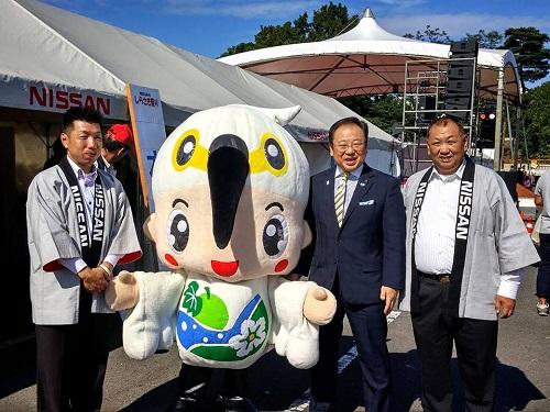 <2016 NISSAN しらさぎ祭り>へ!