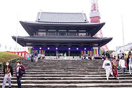 160330増上寺グラント松④