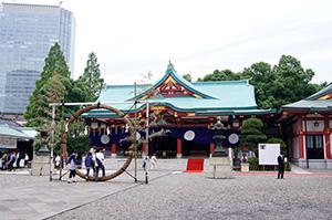 160625日枝神社イチョウ⑥