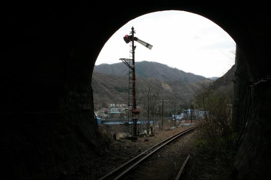 ⑯廃線トンネル