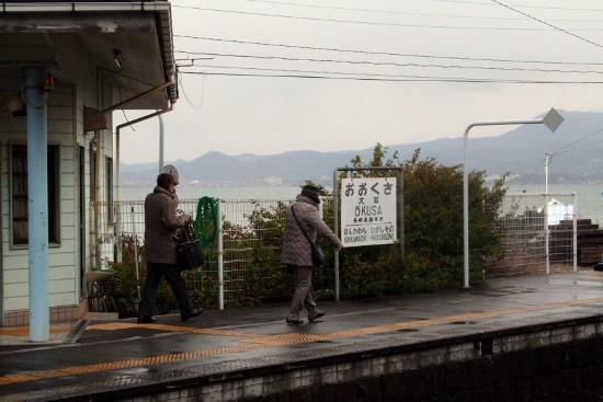 ⑪海辺の駅