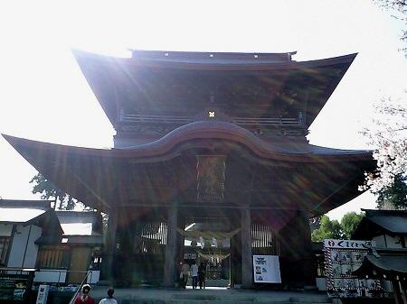 ありし日の阿蘇神社