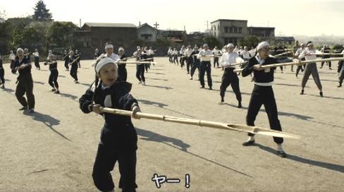 日本の最終兵器竹やり