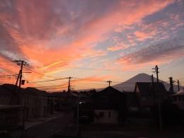 161020_12夕焼けと富士山