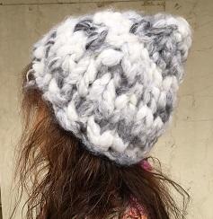 モフモの帽子(白)