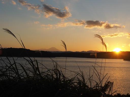 20161103・夕焼け狭山湖16・空写真はこの後