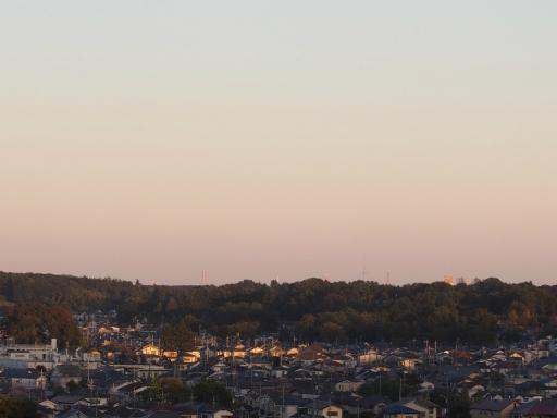 20161103・夕焼け狭山湖空04
