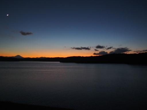 20161103・夕焼け狭山湖空15