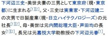 wiki下河辺晴三