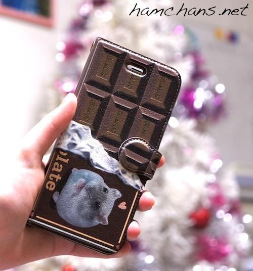 チョコスマホケース