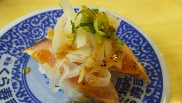 161030寿司1 天然ブリたたき