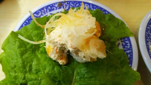 161030寿司2 エビマヨサラダ手巻き