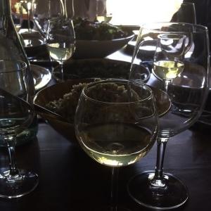 vin et repas