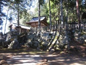 佐久良城/八幡神社
