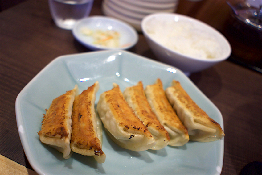 宇都宮みんみん 鹿沼店 焼餃子+ライス