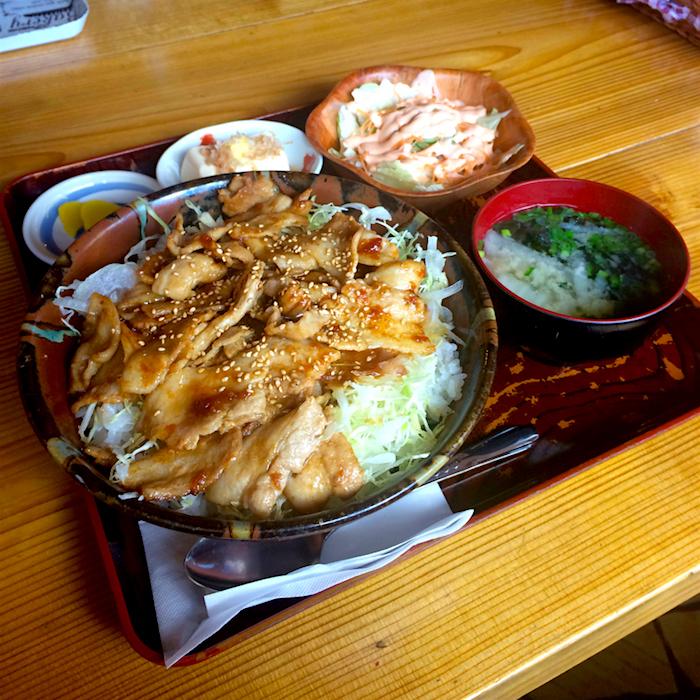 メリーゴーランド@さくら市喜連川 焼肉丼