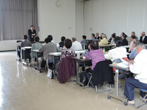 平成28年4月27日ゲートボール協会総会③