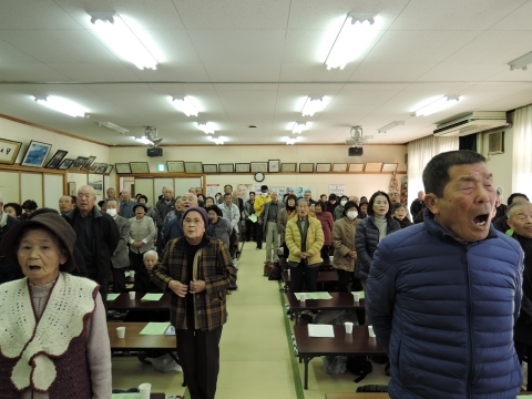 平成28年2月25日いきいきクラブ八郷支部芸能発表会③